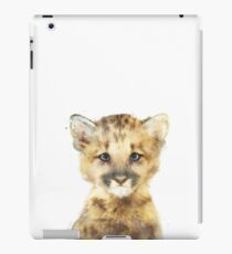 Little Mountain Lion iPad Case/Skin