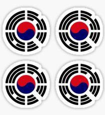 Korean Patriot Flag Series  Sticker
