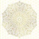 Gold Mandala by Kelly Dietrich