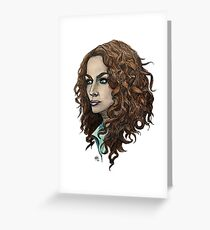 Myka Greeting Card