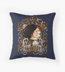 The Mother of Time Travel Throw Pillow