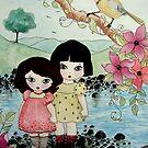 Sisters by Elisabete Nascimento