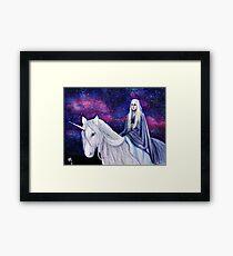 The Unicorn Queen Framed Print