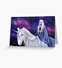 The Unicorn Queen Greeting Card