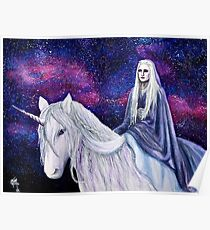 The Unicorn Queen Poster