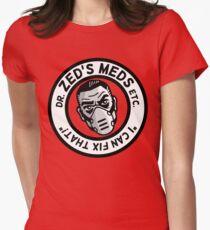 Zed's Meds Women's Fitted T-Shirt