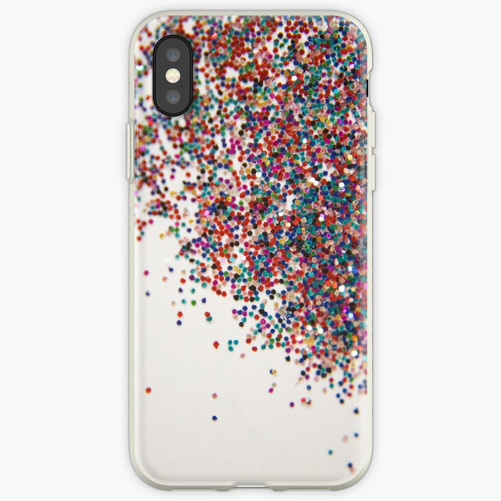 Fun II (NOT REAL GLITTER - photo) iPhone-Hülle & Cover