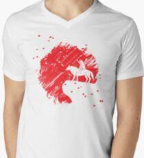 Rising San Men's V-Neck T-Shirt