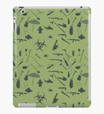 Zombie weapons iPad Case/Skin