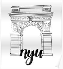 NYU Arch Poster
