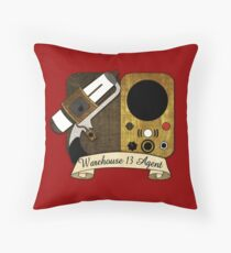 Warehouse 13 Agent Throw Pillow
