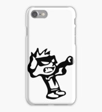 Spiff's Death Ray (White) iPhone Case/Skin