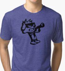 Spiff's Death Ray (White) Tri-blend T-Shirt