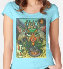 Our Lady of the Metamorphosis Women's Fitted Scoop T-Shirt