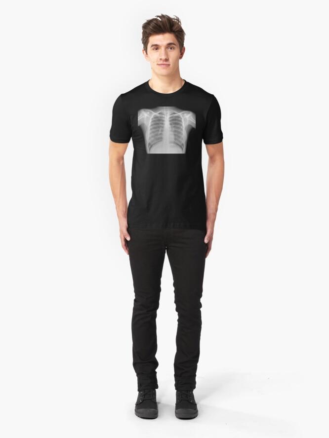 Alternate view of Female X Ray Slim Fit T-Shirt