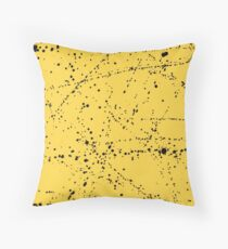 Dazed + Confused [Yellow] Throw Pillow