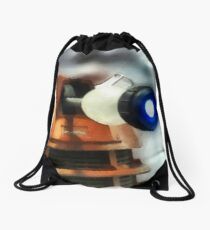 Exterminate! Drawstring Bag