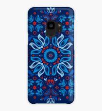 Folk Floral Tale Case/Skin for Samsung Galaxy