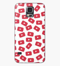 YouTube Play Button Case/Skin for Samsung Galaxy