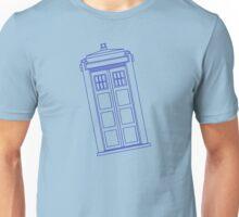 Blue box outline Unisex T-Shirt