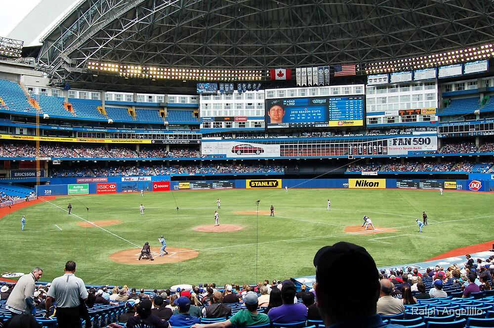 Baseball in Toronto, Canada by Ralph Angelillo