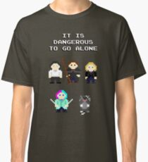 Team Dresden: It is dangerous to go alone Classic T-Shirt