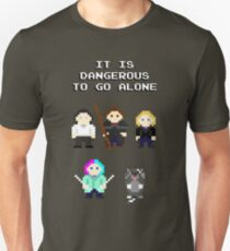 Team Dresden: It is dangerous to go alone T-Shirt