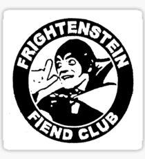 Frightenstien Fiend Club Sticker