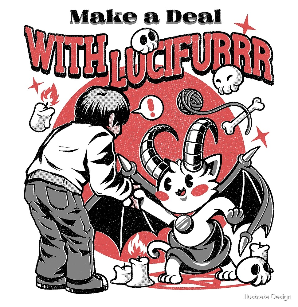 Lucifurrr by Ilustrata Design