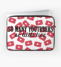 So Many Youtubers Laptop Sleeve