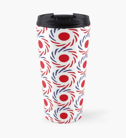 Japanese American Multinational Patriot Flag Series Travel Mug