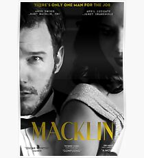 """Macklin"" poster 2 Poster"