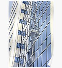 Tower Reflection Poster