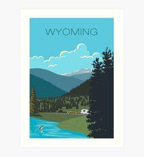 Lámina artística Wyoming