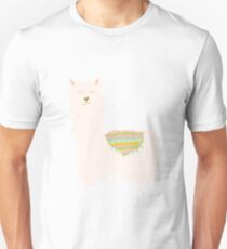 Llamas and Cacti Slim Fit T-Shirt