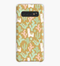 Llamas and Cacti Case/Skin for Samsung Galaxy