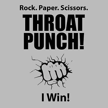Rock Paper Scissors Throat Punch  by SterlingTales