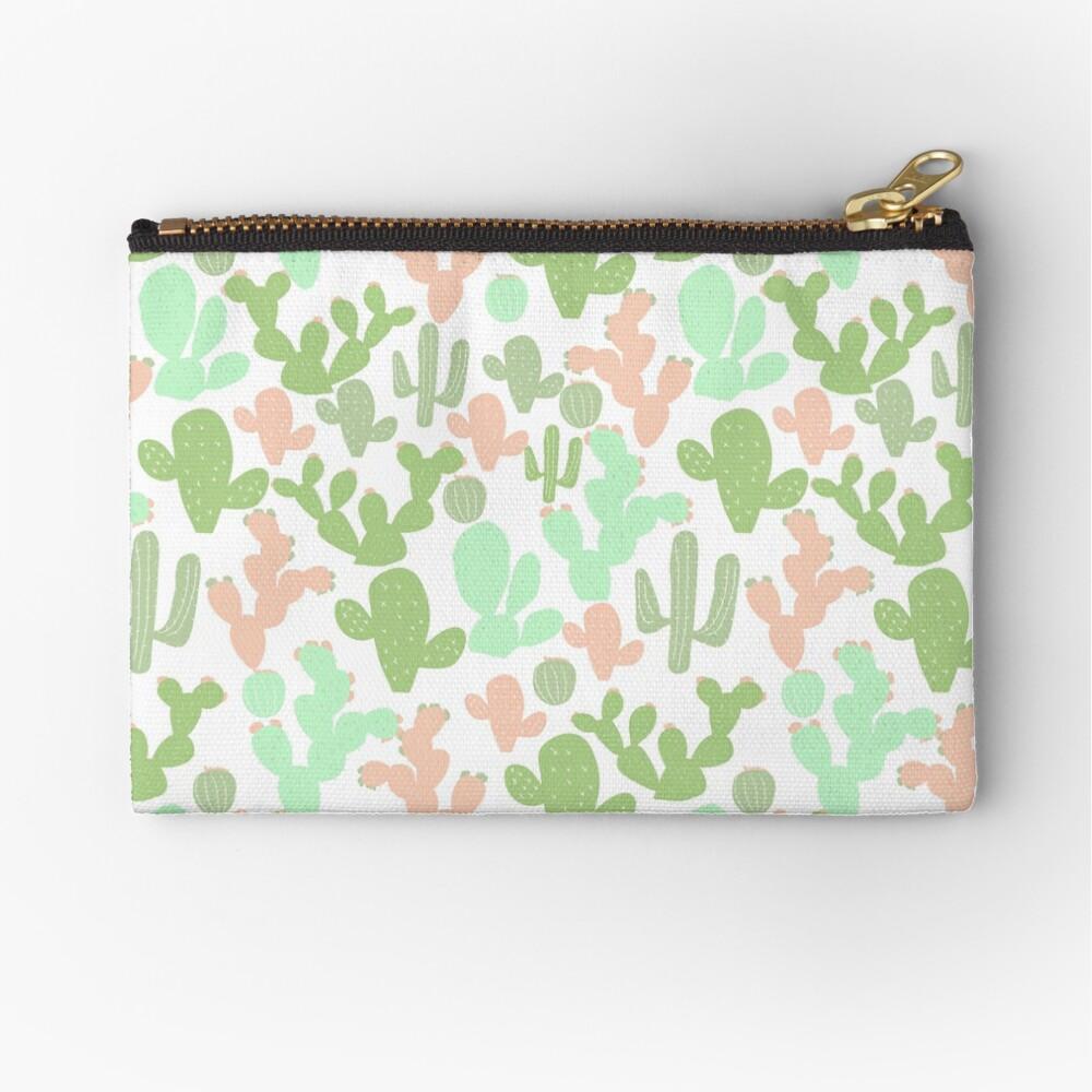 Cactus Zipper Pouch