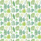 Tropical Leaves by southerlydesign