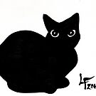 Black Cat (Cross Your Path) by LeftHandedLenya