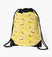 Honeybees Drawstring Bag