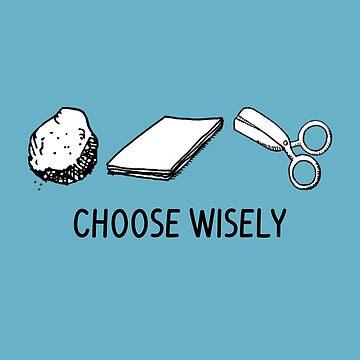 Rock Paper Scissors Choose Wisely by SterlingTales
