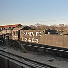 Santa Fe #3423 - Temple, TX - Built in 1921 by Jack McCabe