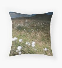 Grassy meadow Throw Pillow