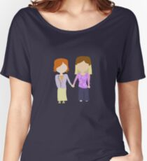 You're My Always - Willow & Tara Stylized Print Women's Relaxed Fit T-Shirt