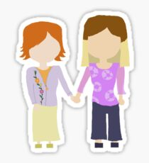 You're My Always - Willow & Tara Stylized Print Sticker