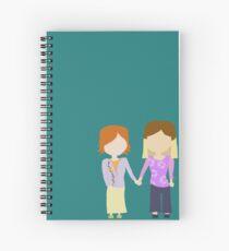 You're My Always - Willow & Tara Stylized Print Spiral Notebook