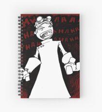 Doctor Horrible - Transparent Evil Laugh Spiral Notebook