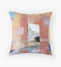 Yoga ( Abstract painting by Madeleine Kelly ) Throw Pillow
