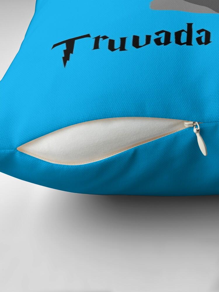 Alternate view of Truvada Kedavra Throw Pillow